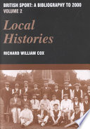British Sport: Local histories