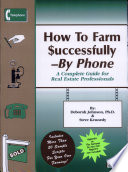 How to Farm Successfully--By Phone