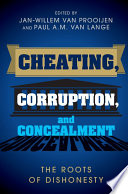 Cheating Corruption And Concealment