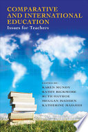 illustration Comparative and International Education, Issues for Teachers