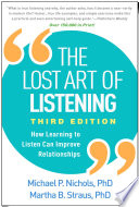 The Lost Art of Listening  Third Edition Book PDF