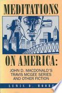 Meditations On America book