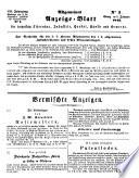 Allgemeines Anzeige-Blatt für technische Literatur, Industrie, Handel, Künste und Gewerbe