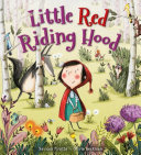 Little Red Riding Hood Girl Who Meets A Wolf