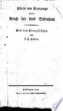 Adele von Senange, oder, Briefe des Lord Sydenham
