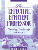 The Effective  Efficient Professor