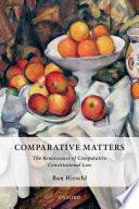 Comparative Matters