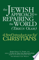 The Jewish Approach to Repairing the World  tikkun Olam