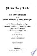 Mein Tagebuch  Gedenkb  chlein an die siebente Secul  rfeier zu Gro   Maria Zell und die National Wallfahrt 1857