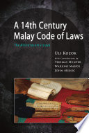 A 14th Century Malay Code of Laws