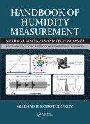Handbook Of Humidity Measurement Volume 1