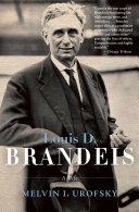 Louis D. Brandeis Book
