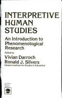 Book Interpretive human studies