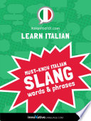 Learn Italian  Must Know Italian Slang Words   Phrases Book PDF