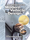 An Introduction to Modern Vehicle Design