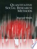 Quantitative Social Research Methods