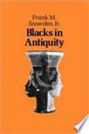 Blacks in Antiquity