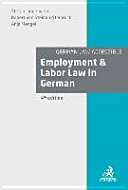 Employment & Labor Law in Germany