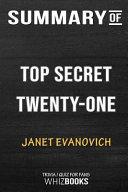 Summary Of Top Secret Twenty One A Stephanie Plum Novel Trivia Quiz For Fans