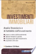 Investimenti immobiliari  Con CD ROM