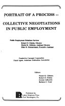 Portrait of a process  collective negotiations in public employment