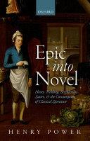Epic Into Novel