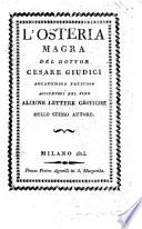 L osteria Magra