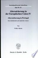 Alterssicherung in der Europäischen Union IV