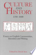 Culture and History  1350 1600