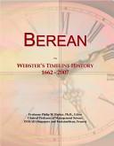 Berean: Webster's Timeline History 1662 - 2007