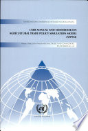 User Manual and Handbook on Agricultural Trade Policy Simulation Model  ATPSM