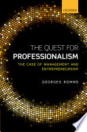 The Quest for Professionalism