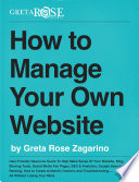 How To Manage Your Own Website