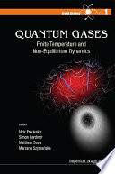 Quantum Gases