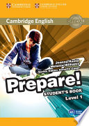 Cambridge English Prepare  Level 1 Student s Book