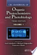 CRC Handbook of Organic Photochemistry and Photobiology