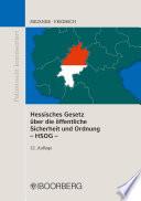 Hessisches Gesetz über die öffentliche Sicherheit und Ordnung – HSOG –