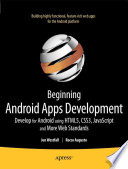 Beginning Android Web Apps Development