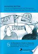 Managing Better 08  An Introductory Guide to Networks  a strategic approach to educational disadvantage