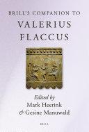 Brill's Companion to Valerius Flaccus
