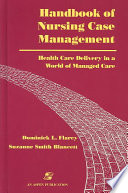 Handbook of Nursing Case Management
