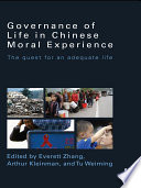 Governance of Life in Chinese Moral Experience