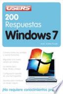200 respuestas  Windows 7