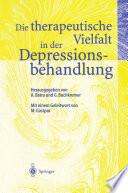 Die therapeutische Vielfalt in der Depressionsbehandlung