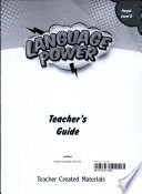 Language Power  Grades K 2 Level B Teacher s Guide