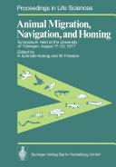Animal Migration, Navigation, and Homing
