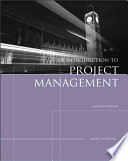 Introduction to Project Management  Second Edition