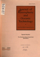 Journal Of Atmospheric And Oceanic Technology book