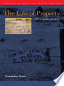Serkin s The Law of Property  Concepts and Insights Series