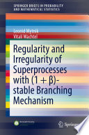 Regularity And Irregularity Of Superprocesses With 1 Stable Branching Mechanism